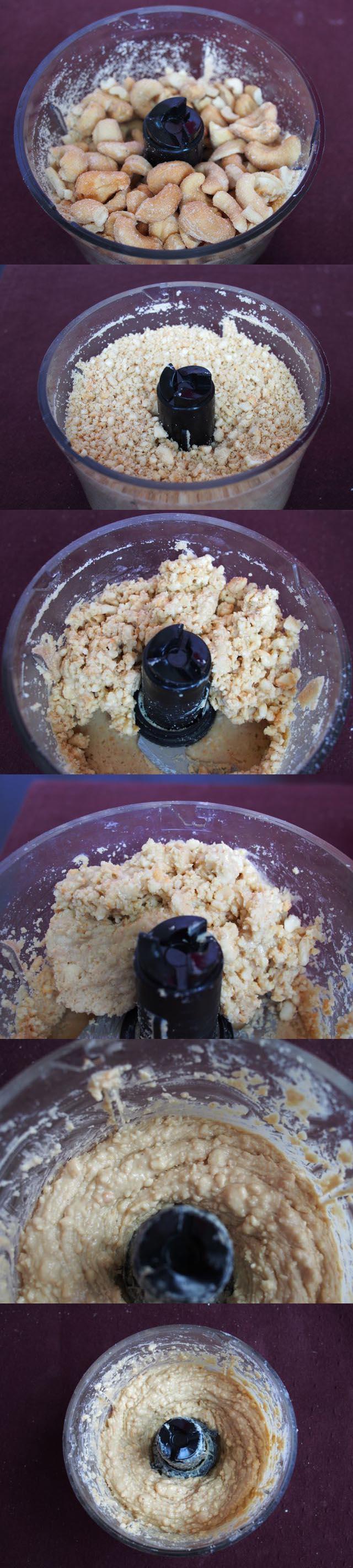 Cashew Nut Butter Process