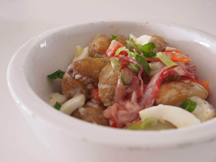Roasted-Potato-Salad-with-Creme-Fraiche-and-Coppa