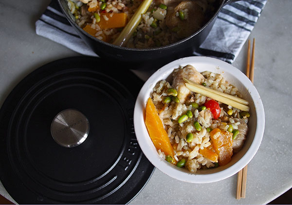 Thai Fusion Risotto with Coconut Milk and Butternut Squash | the Worktop