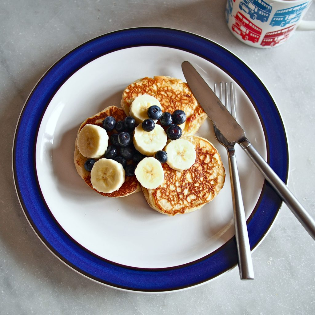 Low-Fat Vanilla Yogurt Pancakes | The Worktop