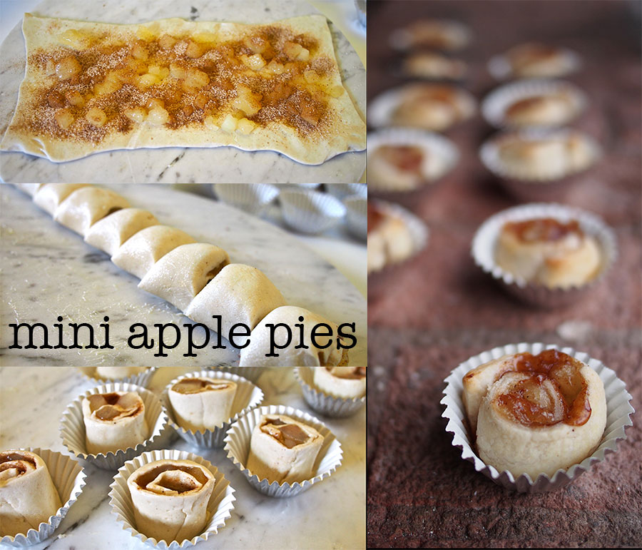 Mini Apple Pie How-to Steps
