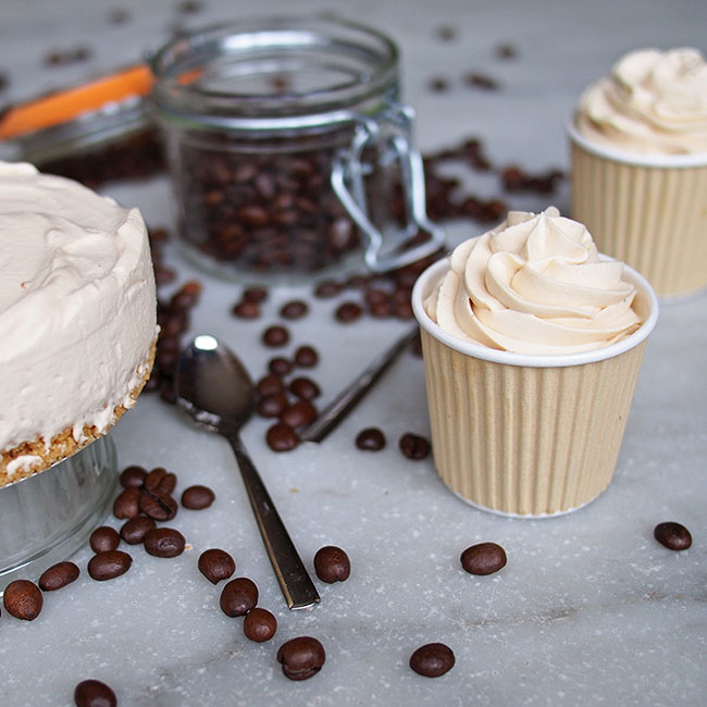 Dirty Chai No Bake Cheesecake | the Worktop