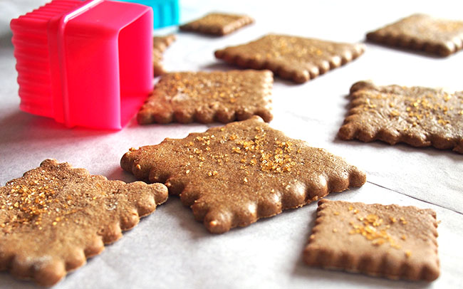 Graham Crackers with Buckwheat Flour | the Worktop