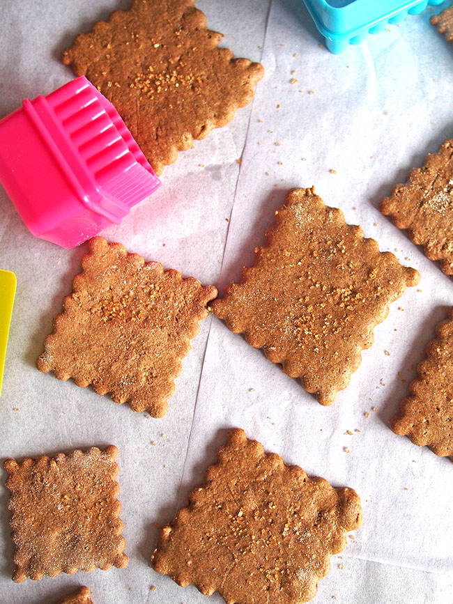 Graham Crackers with Buckwheat Flour (Gluten Free)   the Worktop