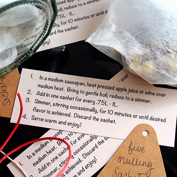 DIY Mulling Spices Directions | the Worktop