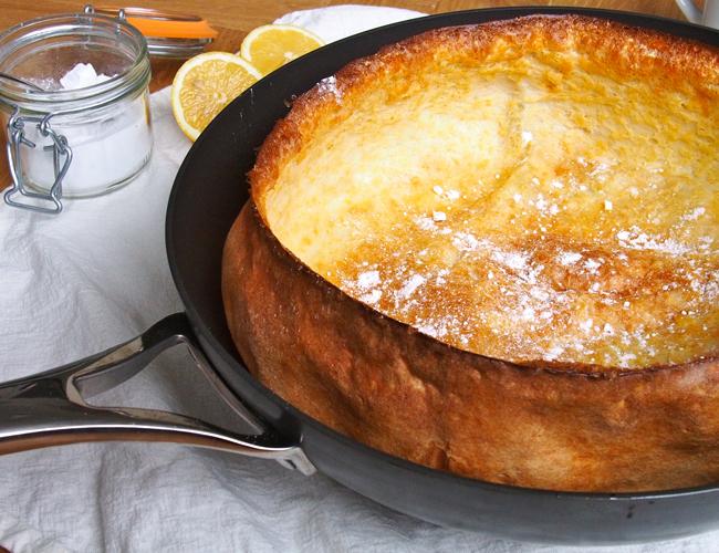 German Pancake Recipe (aka The Dutch Baby) | the Worktop