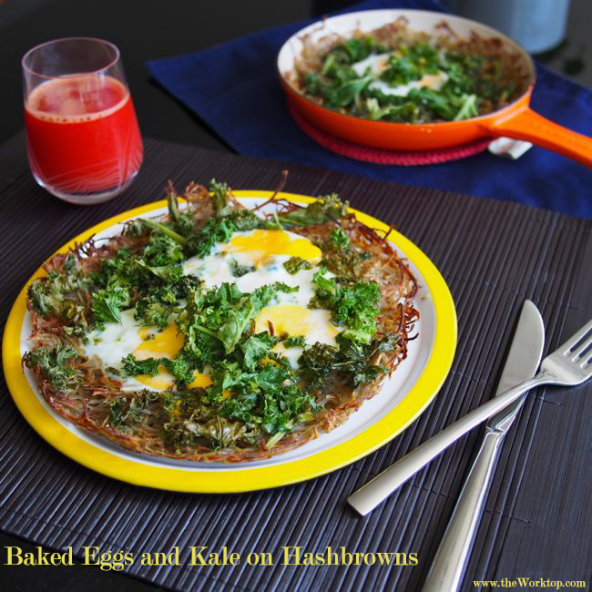 Baked Eggs | the Worktop