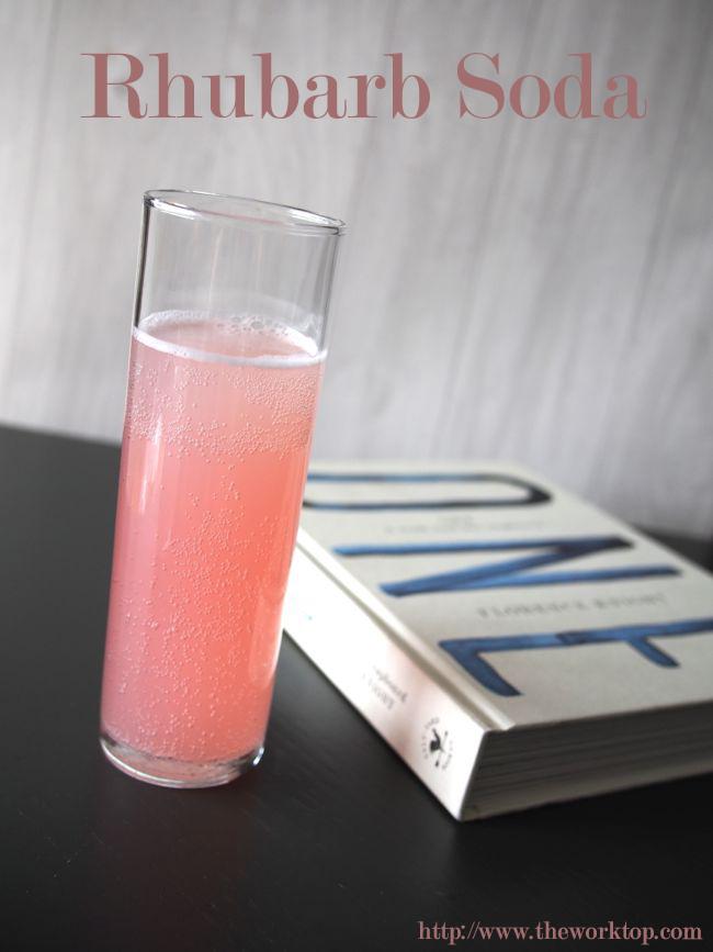 Rhubarb Soda | the Worktop
