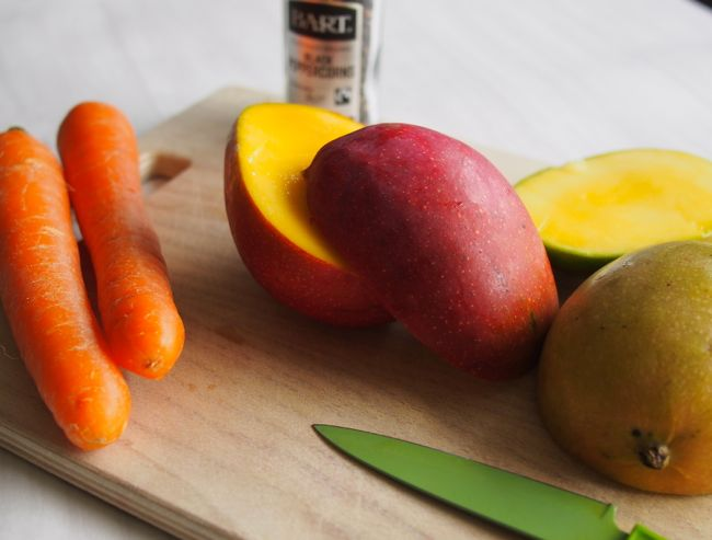 Black Pepper Mango Juice | the Worktop