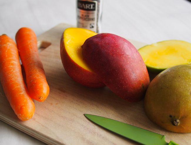 Black Pepper Mango Juice | the Worktop