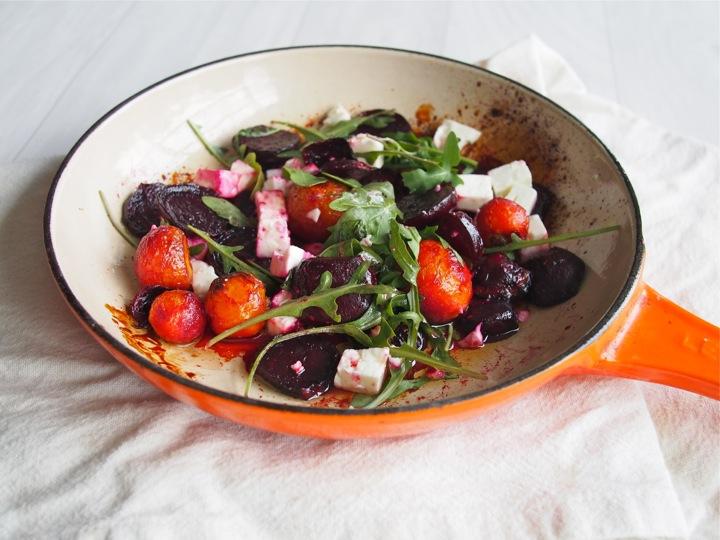 Honey Roasted Beetroot Salad