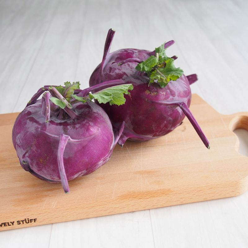 Kohlrabi from The Cycling Veg