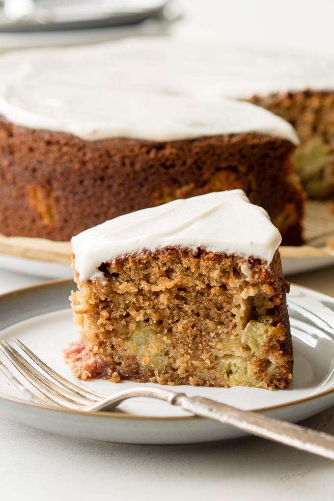 Strawberry Rhubarb Coffee Cake | The Worktop