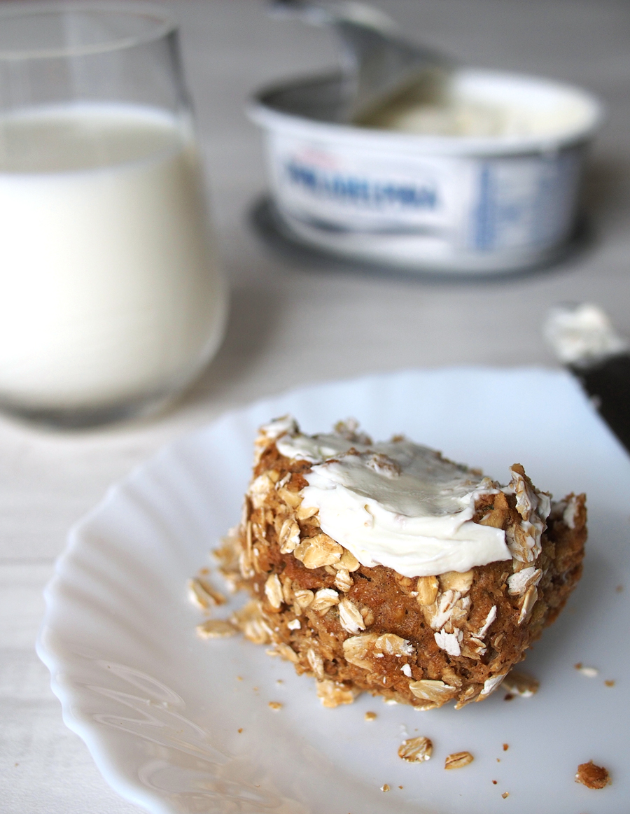 Healthy Breakfast Zucchini and Oat Muffins | TheWorktop.com