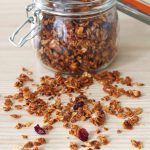 Autumn Granola with Toasted Barley, Pumpkin Seeds, and Dried Cranberries