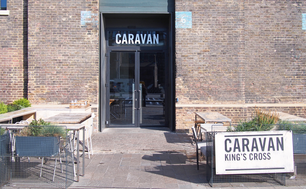 Caravan Kings Cross, London