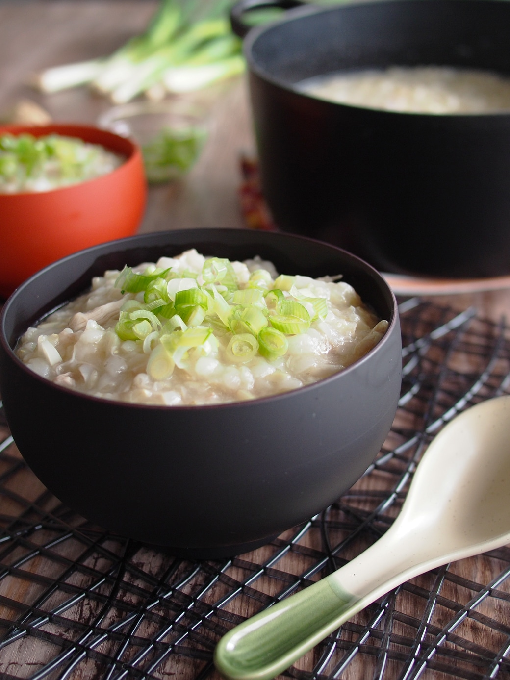 Chicken and Ginger Congee (Rice Porridge) | The Worktop