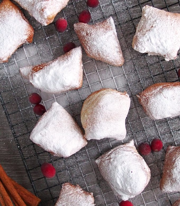 Greek Yogurt Beignet