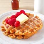Brown Butter Almond Milk Waffles