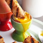 Dippy Eggs and Grilled Cheese Soldiers