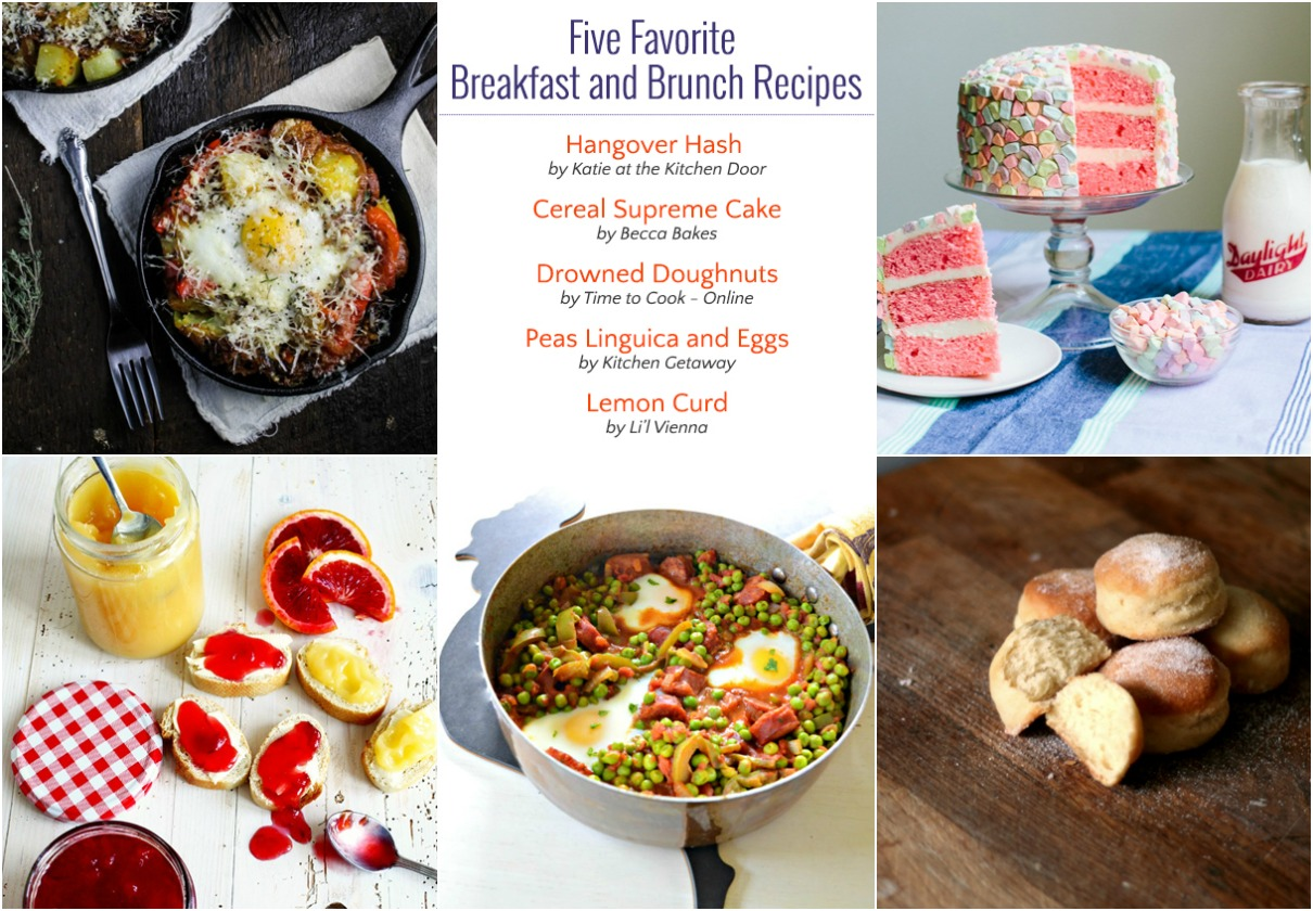 Five Favorite Breakfast Recipes (Week 3)