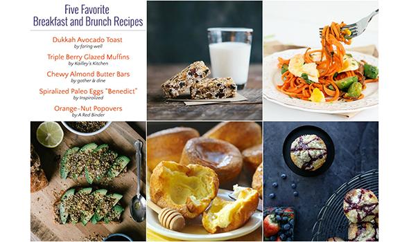 Five Favorite Breakfast Recipes This Week