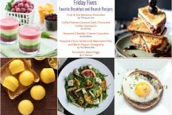Friday Fives Favorite Breakfast Recipes (Week 4)