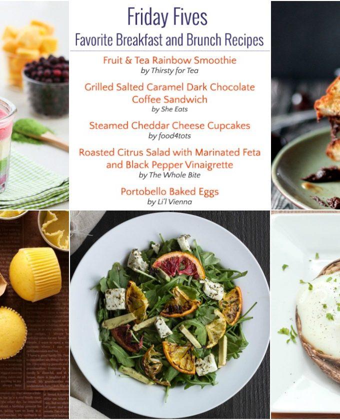 Friday Fives: Favorite Breakfast Recipes (Week 4)