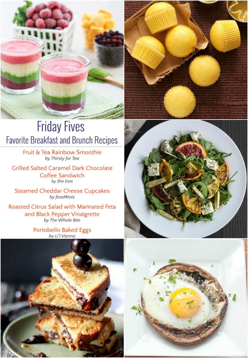 Friday Fives Favorite Breakfast Recipes