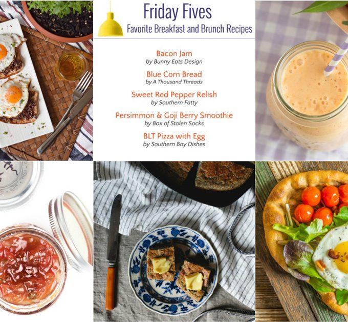 Friday Fives: Favorite Breakfast Recipes (Week 5)
