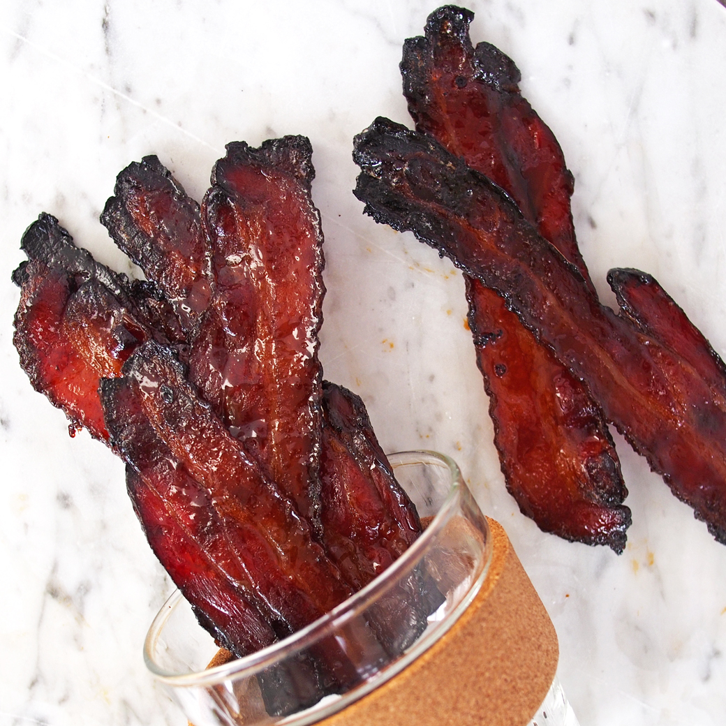 maple espresso bacon espresso maple lacquered bacon espresso