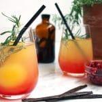 Sunburst Orange Juice Brunch Mocktails