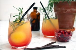 Sunburst Orange Juice Brunch Mocktails