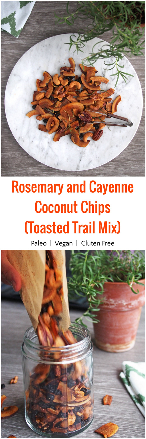 Rosemary Cayenne Coconut Chips