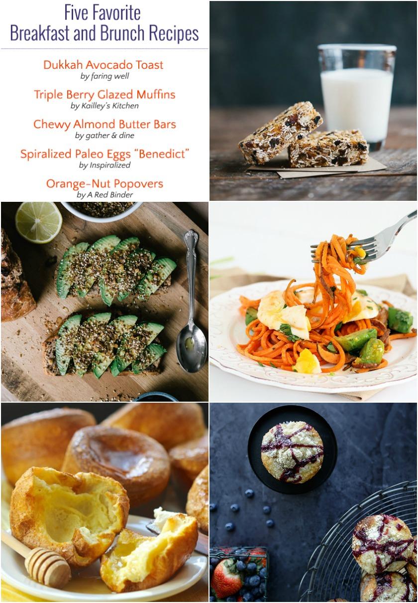 Five Favorite Breakfast Recipes