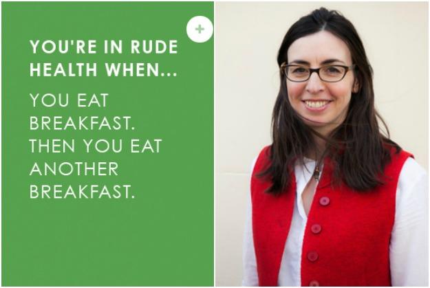 Mornings on Rude Health Co-Founder, Camilla Barnard's Worktop