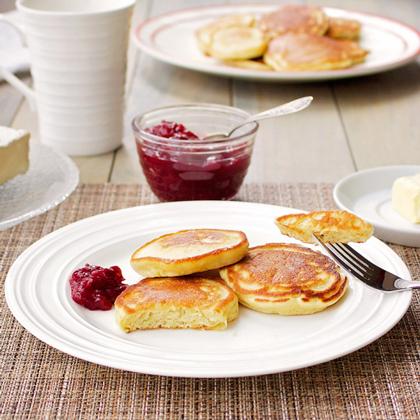 Einkorn Kefir Pancakes