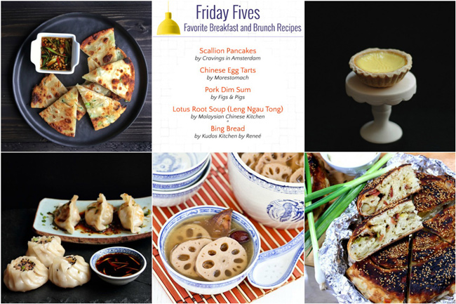 Friday Fives: Lunar New Year Recipes (Week 8)