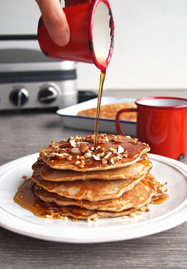 Nutty Nut Pancake Syrup | The Worktop