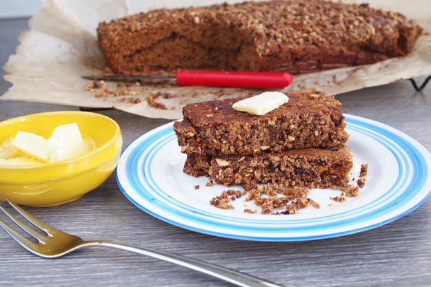 Healthy Coffee Cake with Whole Wheat and Spelt Flours | The Worktop