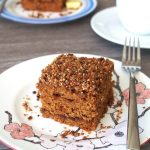 Healthy Coffee Cake - Whole Wheat and Spelt | The Worktop
