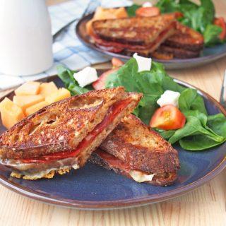 Grilled Prosciutto Sandwich