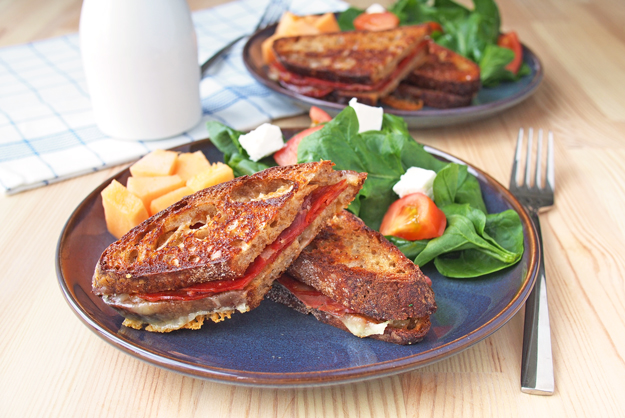 Chorizo Toastie – a Grilled Cheese with Chorizo