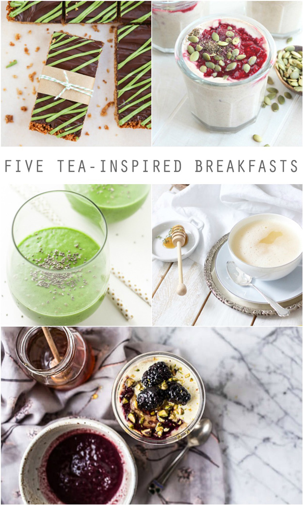 Five Tea-Inspired Breakfast Recipes