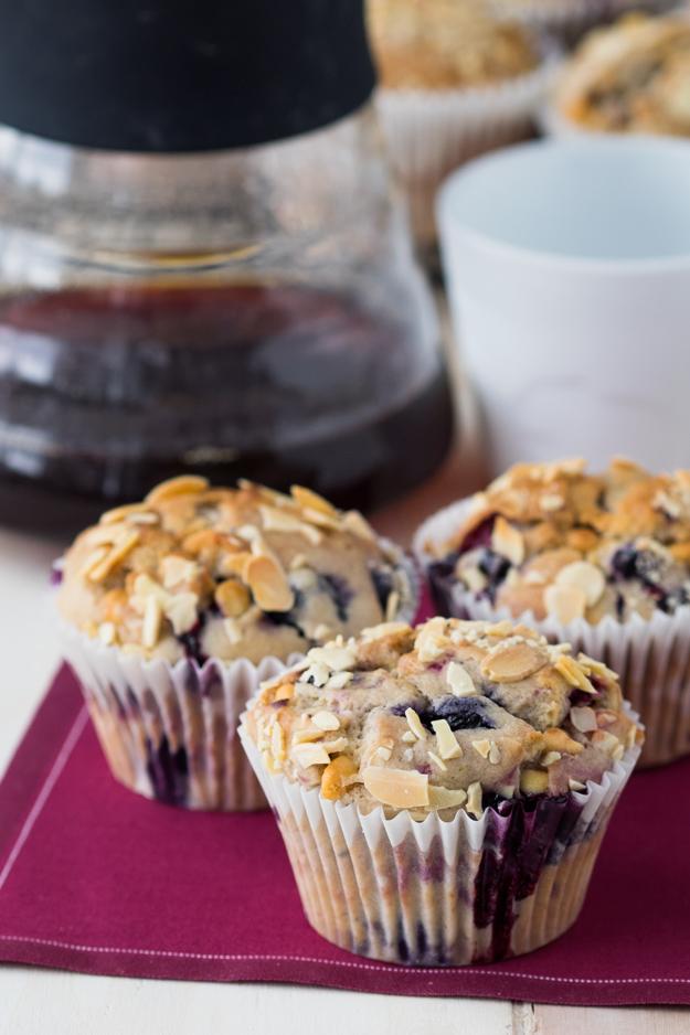 Berry White Chocolate Muffins Recipe | The Worktop