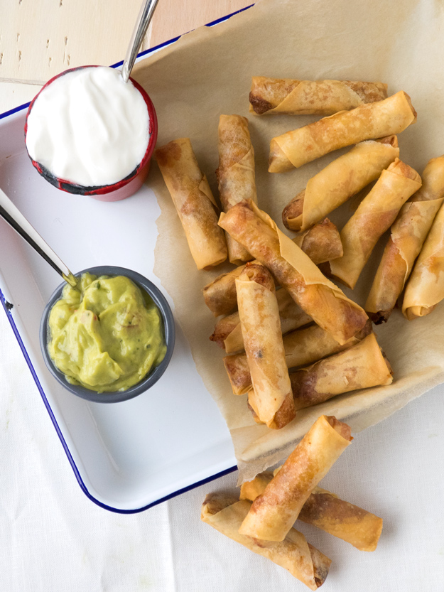 Breakfast Spring Rolls To Turn Your Kitchen into the Newest Hippest Deep Fry Parlor