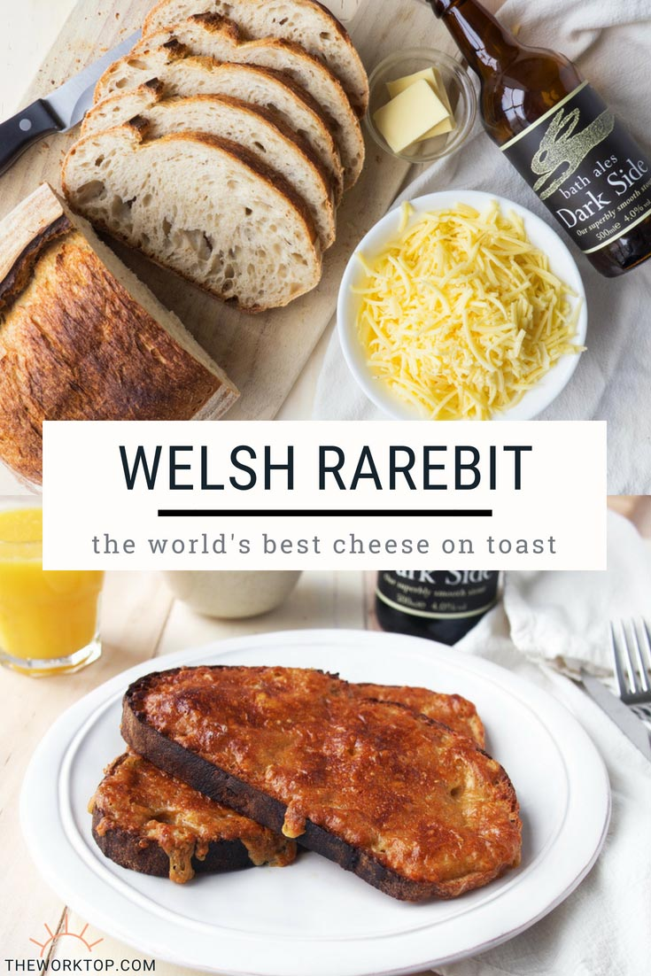 Easy Welsh Rarebit Recipe - Make at Home Brunch | The Worktop