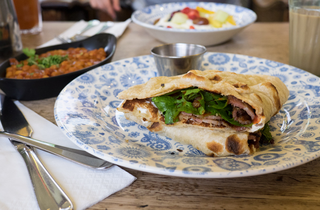 Dishoom London - Bacon Naan
