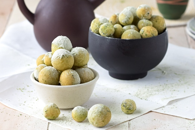 Matcha Mochi Donuts (GF) | The Worktop