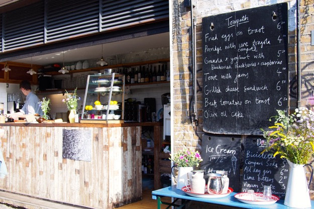 Towpath Cafe London Hours